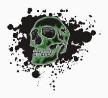 Green Skull Glow by MrBliss4