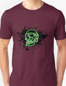 Green Skull Glow T-Shirt