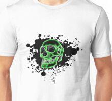 Green Skull Glow Unisex T-Shirt
