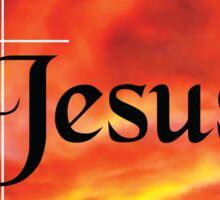 Jesus Sticker