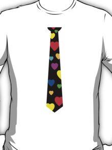 tie hearts T-Shirt