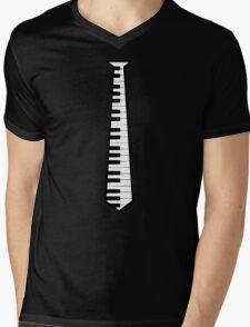 piano tie Mens V-Neck T-Shirt