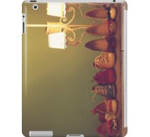 Dancing Shoes and Heels (retro and vintage girly shoes and heels with a lovely lamp) iPad Case/Skin