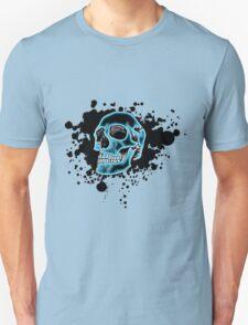 Blue Glow Skull T-Shirt