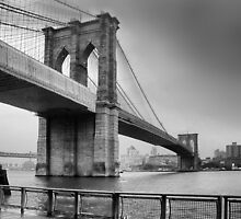 Brooklyn Bridge by John Lines