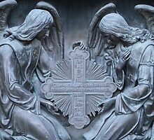 two archangel with cross by mrivserg