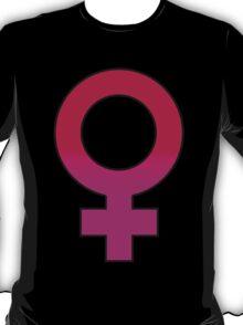 female gender sign T-Shirt