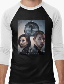 Future Now The Tour Demi Lovato Nick Jonas Gunahad01 Men's Baseball ¾ T-Shirt