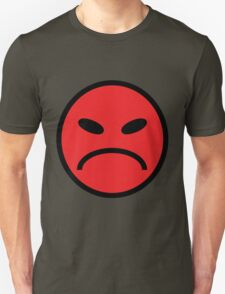 angry face red T-Shirt