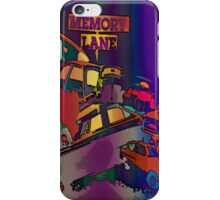 Classic car memory lane iphone case iPhone Case/Skin