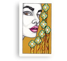 The 7 of Wands Canvas Print