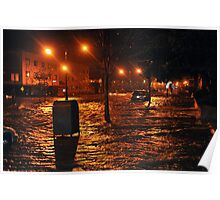Hurricane Sandy in Brooklyn NY - 9pm, October 29, 2012 Poster