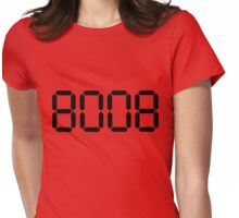 boob Womens Fitted T-Shirt