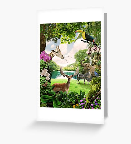 """""""The Lost Paradise"""" Greeting Card"""