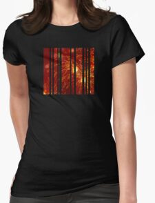 Fired up lights Womens Fitted T-Shirt