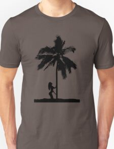 palm woman Unisex T-Shirt