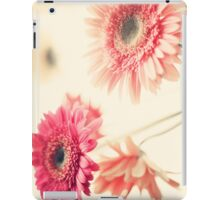 Vintage Pink Flowers iPad Case/Skin