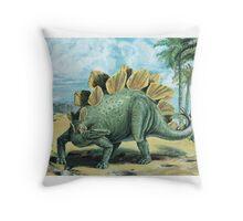 Stegosaurus Throw Pillow