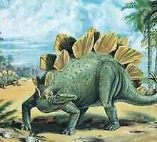 Stegosaurus by David Roland
