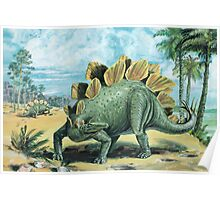 Stegosaurus Poster