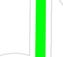 green note Sticker