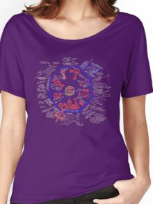 LOST Swan Station Blast Door Map Women's Relaxed Fit T-Shirt