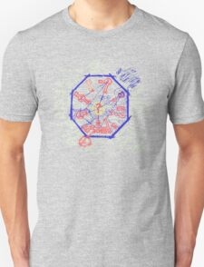 LOST Swan Station Blast Door Map T-Shirt