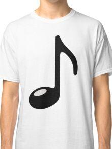 black note Classic T-Shirt