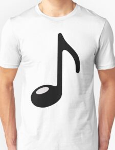 black note Unisex T-Shirt