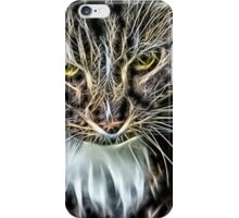 Wild nature - cat #6 iPhone Case/Skin