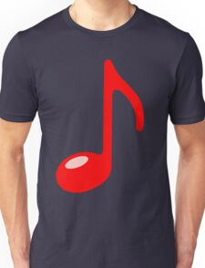 red note Unisex T-Shirt