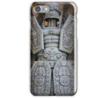 warrior antique military armor iPhone Case/Skin