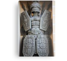 warrior antique military armor Metal Print
