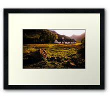 Blackrock Cottage Framed Print