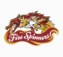 Team Fire Types - Fire Spinners Kids Clothes