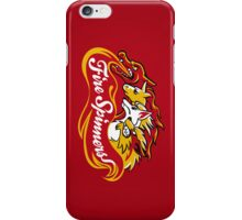 Team Fire Types - Fire Spinners iPhone Case/Skin