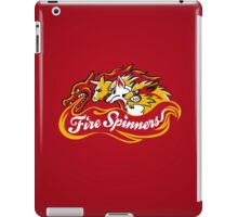 Team Fire Types - Fire Spinners iPad Case/Skin