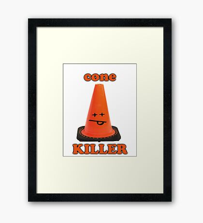 Cone killer  Framed Print