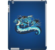 Water Types - Hydro Pumps iPad Case/Skin