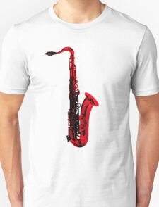 red saxophone Unisex T-Shirt