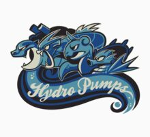 Water Types - Hydro Pumps Kids Tee