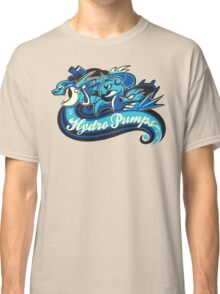Water Types - Hydro Pumps Classic T-Shirt