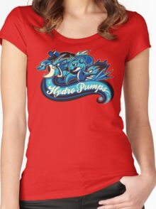 Water Types - Hydro Pumps Women's Fitted Scoop T-Shirt