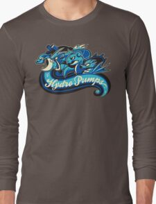 Water Types - Hydro Pumps Long Sleeve T-Shirt