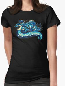 Water Types - Hydro Pumps Womens Fitted T-Shirt