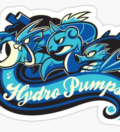 Water Types - Hydro Pumps Sticker