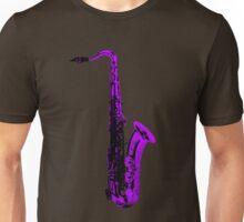 purple saxophone Unisex T-Shirt