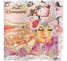 Pink Champagne Poster