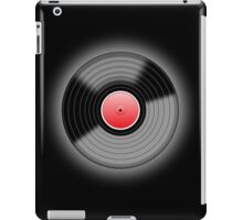 Vinyl Record Black iPad Case/Skin