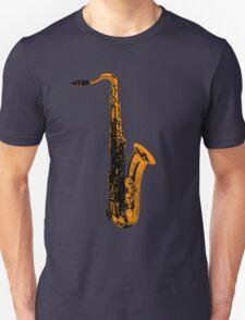gold saxophone T-Shirt